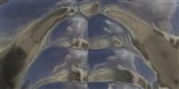 male torso [detail] by fernando botero